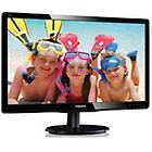 Philips monitor led v-line 200v4qsbr monitor a led full hd (1080p) 20'' 200v4qsbr/00
