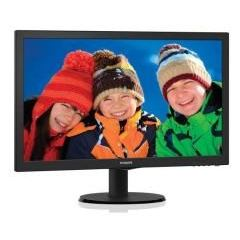 Philips monitor led 223v5lhsb2/00 22'' full hd con smartcontrol lite