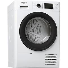 Whirlpool asciugatrice ft m22 9x3b it fresh care + classe a+++ prof. 64.9 cm pompa di calore